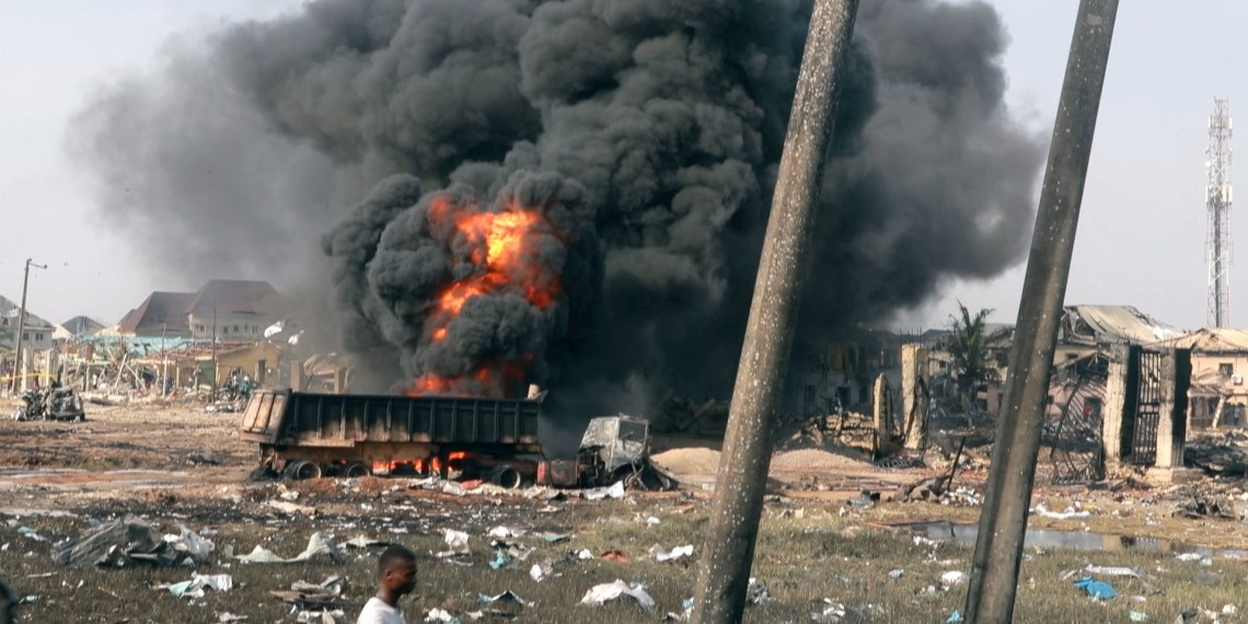 Lagos Explosion: BBC Africa Eye uncovers evidence that contradicts NNPC's claims