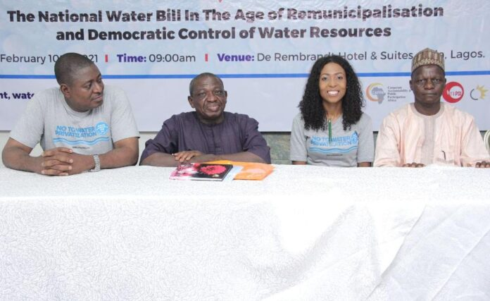 Plans to reintroduce water bill disrespectful to Nigerians Say Campaigners