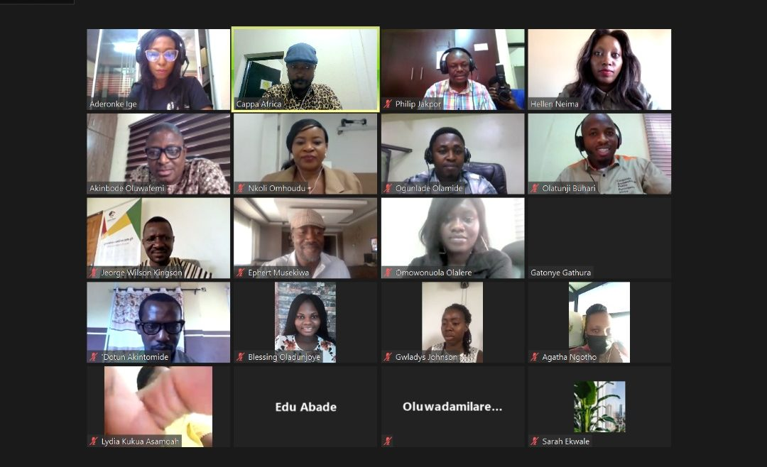 Journalism Training On Climate Change Reporting In Africa