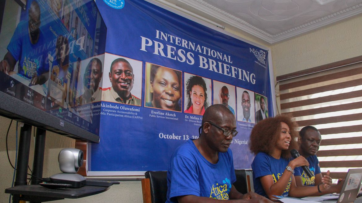 Nigeria: Activists reject Corporate Privatisation of water as World Bank Meets
